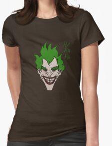 Joker Artwork Womens Fitted T-Shirt