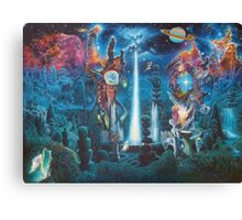 """The Garden in the Valley of the Stars"" Canvas Print"