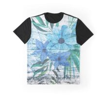 Asphalt Flower 3 Graphic T-Shirt