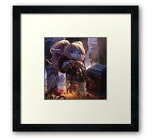 Keeper of the Hammer Framed Print