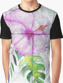 Asphalt Flower 5 Graphic T-Shirt