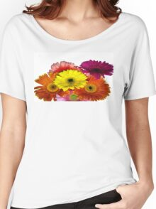 Chrysanthemums  Women's Relaxed Fit T-Shirt