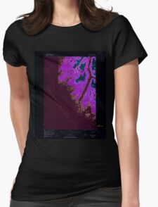 USGS TOPO Map Alaska AK Sitka D-8 359181 1948 63360 Inverted Womens Fitted T-Shirt
