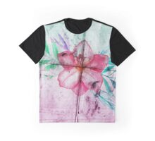 Asphalt Flower 6 Graphic T-Shirt