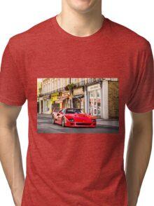 Ferrari F40 Tri-blend T-Shirt