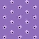 Mauve Flower Tee by KazM