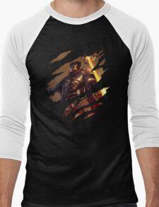 The Machine Herald Men's Baseball ¾ T-Shirt