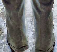 No Socks in the Snow by RC deWinter