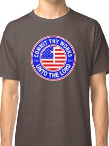 PROVERBS 16:3 - USA  Classic T-Shirt