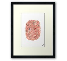 0410 - Space is All Around Framed Print