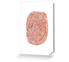0410 - Space is All Around Greeting Card
