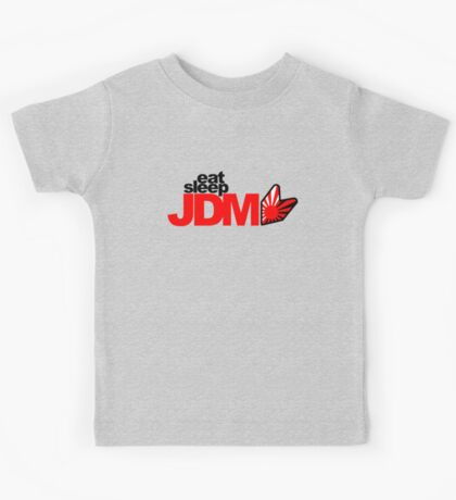Eat Sleep JDM (6) Kids Tee