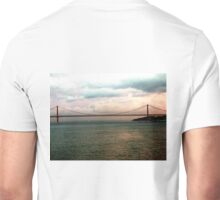 APRIL 25 BRIDGE OVER THE TAGUS, LISBON Unisex T-Shirt
