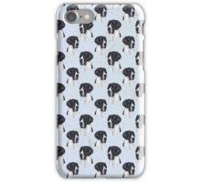 mantle great dane design  iPhone Case/Skin