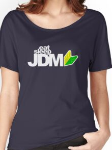 Eat Sleep JDM (5) Women's Relaxed Fit T-Shirt