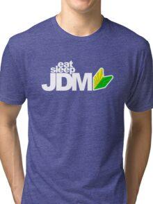 Eat Sleep JDM (5) Tri-blend T-Shirt