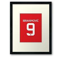 Zlatan Ibrahimovic (Phone Case, T-shirts and more) Framed Print