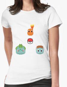 Starters Pixel Art Womens Fitted T-Shirt