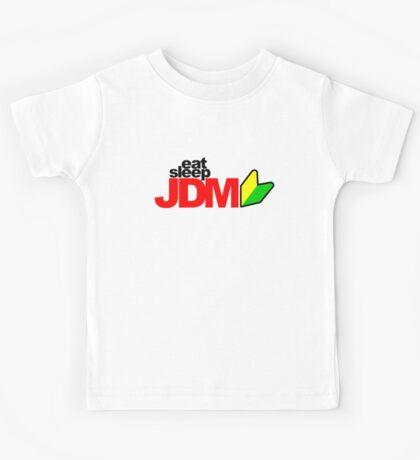 Eat Sleep JDM (3) Kids Tee
