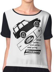 Energiser Battery - Land Rover (Parody) Chiffon Top