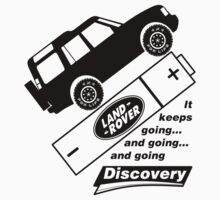 Energiser Battery - Land Rover (Parody) Kids Tee