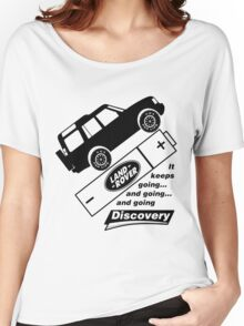 Energiser Battery - Land Rover (Parody) Women's Relaxed Fit T-Shirt
