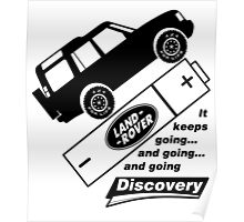 Energiser Battery - Land Rover (Parody) Poster