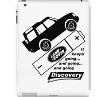 Energiser Battery - Land Rover (Parody) iPad Case/Skin