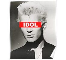 BILLY IDOL - OBEY Poster