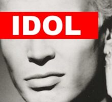 BILLY IDOL - OBEY Sticker