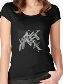 ISS International Space Station - Limited Edition Women's Fitted Scoop T-Shirt