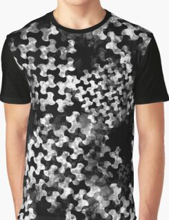 Houndstooth pattern with watercolor effect Graphic T-Shirt