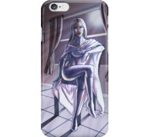 Emma at the X-Mansion iPhone Case/Skin