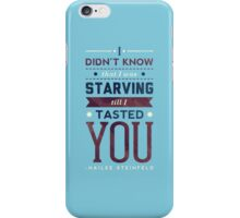 Starving iPhone Case/Skin