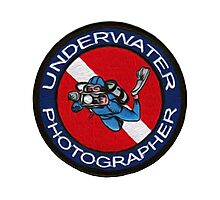 underwater photographer Photographic Print