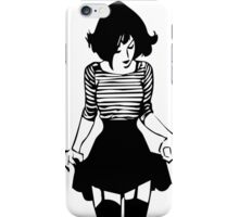 THE TIMID GIRL iPhone Case/Skin