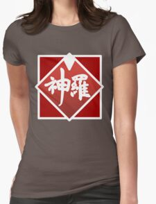 Shinra simplified logo Womens Fitted T-Shirt