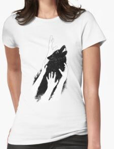 Wolves of Paris Womens Fitted T-Shirt