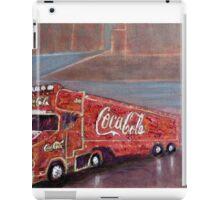 COCACOLA TRUCK iPad Case/Skin