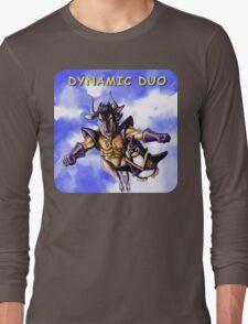 GNU & TUX Dynamic Duo Long Sleeve T-Shirt