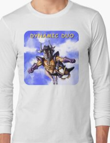 GNU & TUX Dynamic Duo Long Sleeve T-Shirt