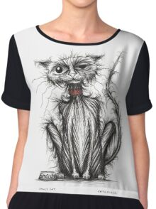 Smelly cat Chiffon Top