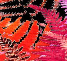 Ferns, Morning Blush Sticker
