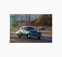 Old American car in La Habana, Cuba Unisex T-Shirt
