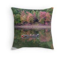Lake patrol Throw Pillow
