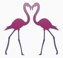 Flamingo In Love by vdezine