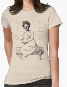 Insane Patient in a Strait-Waistcoat Womens Fitted T-Shirt