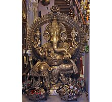 Hindu Deity Photographic Print