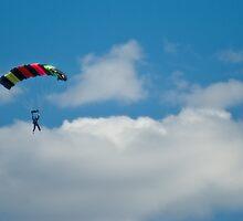 Skydiver by Martie Venter