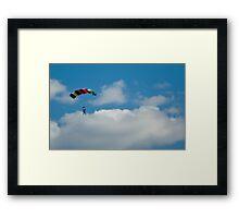 Skydiver Framed Print